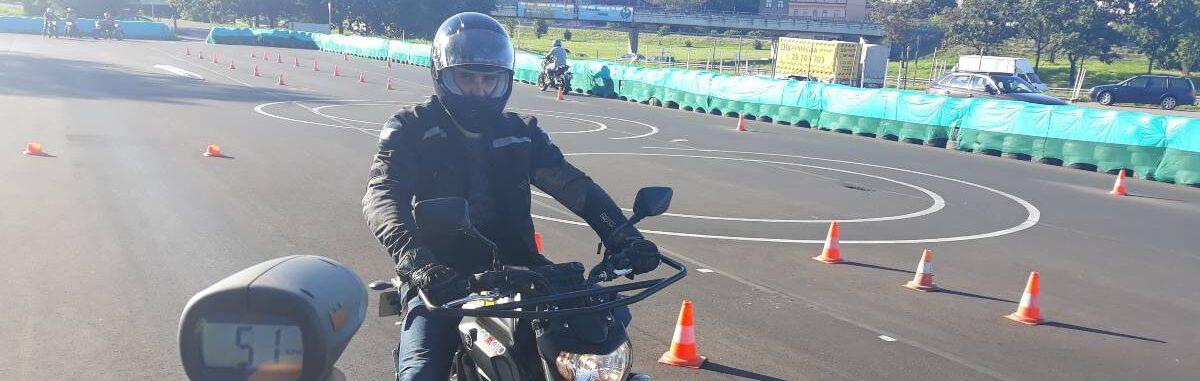Обучение на мотоцикл в Долгопрудном