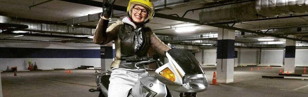 Учеба на мотоцикл в Долгопрудном
